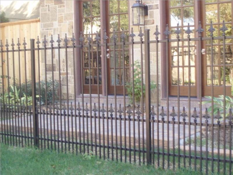 Custom Wrought Iron Fences From Carollo Fence Company